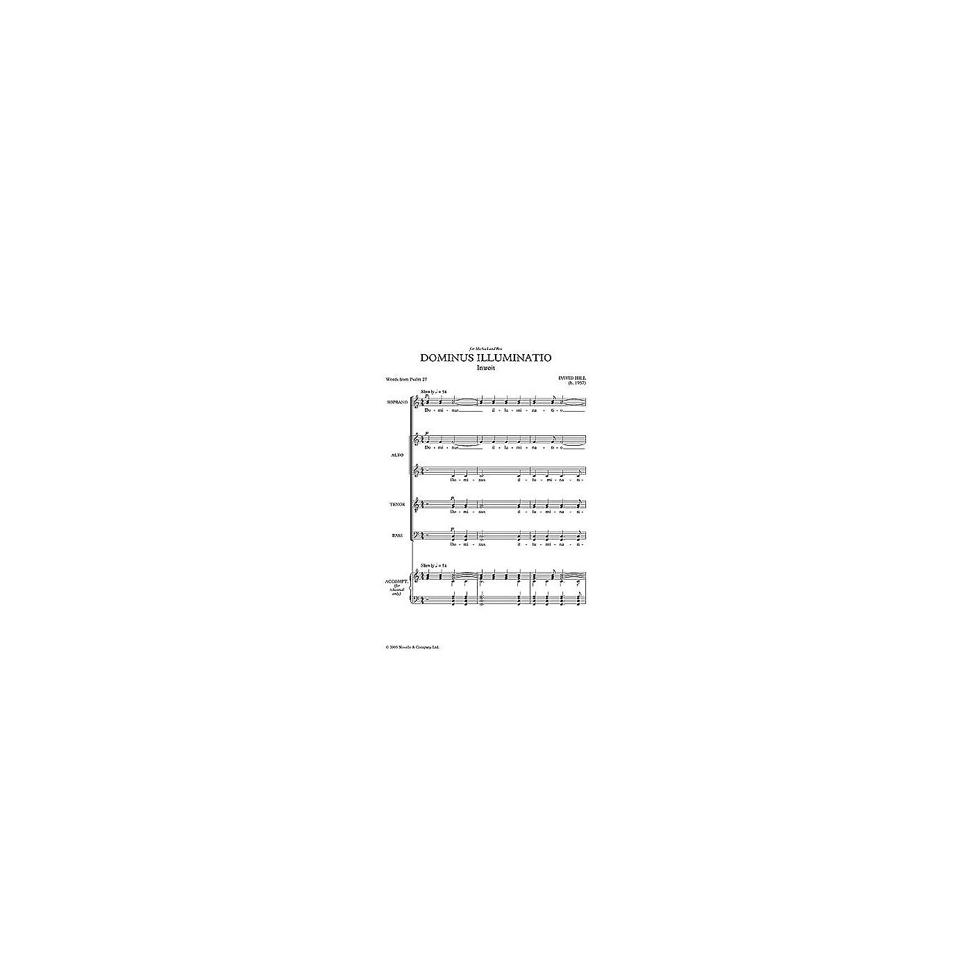 Novello Dominus Illuminatio SATB Composed by David Hill thumbnail