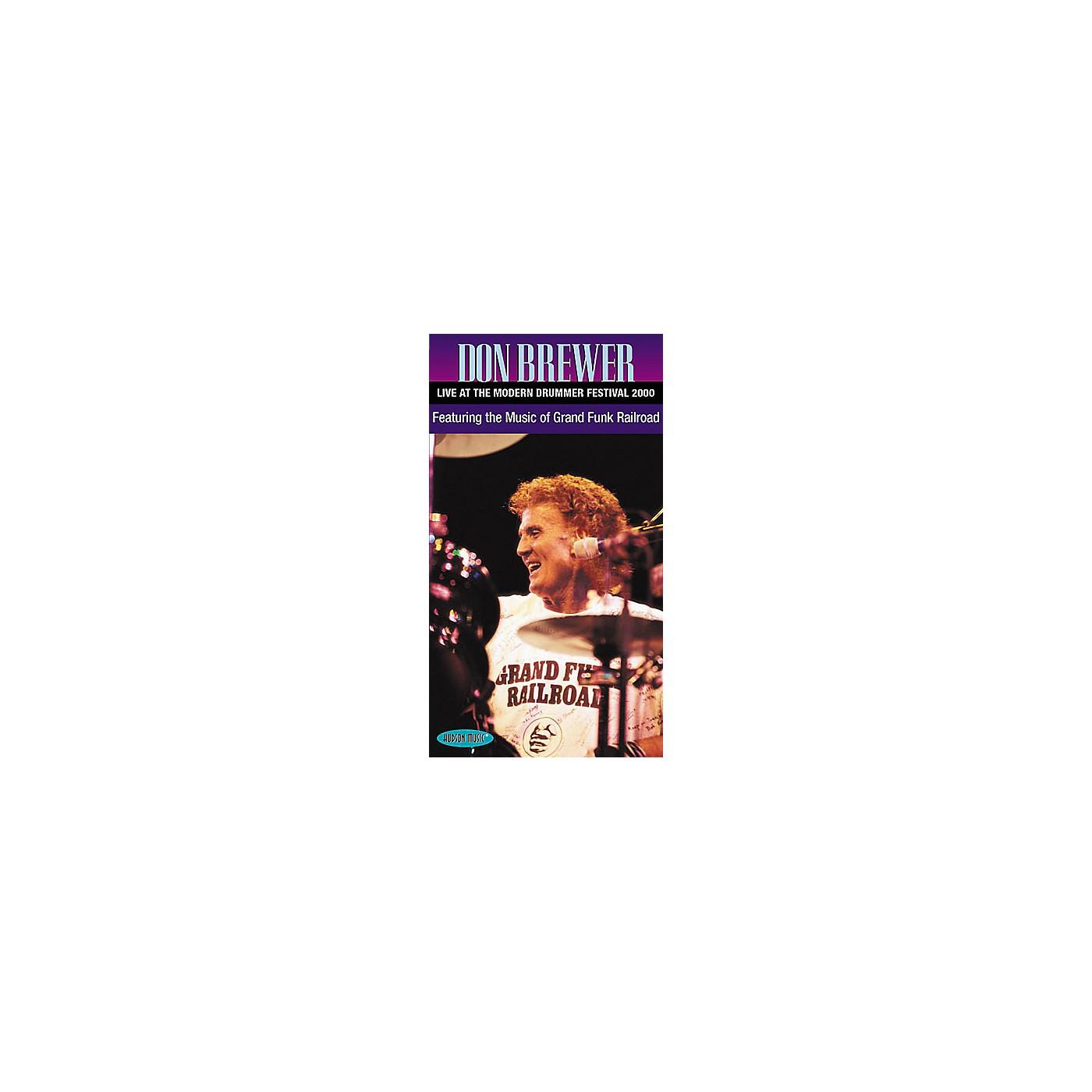 Hudson Music Don Brewer Live (VHS) thumbnail