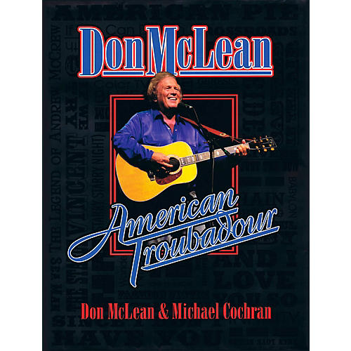 Hal Leonard Don McLean - American Troubadour Premium Autographed Biography thumbnail