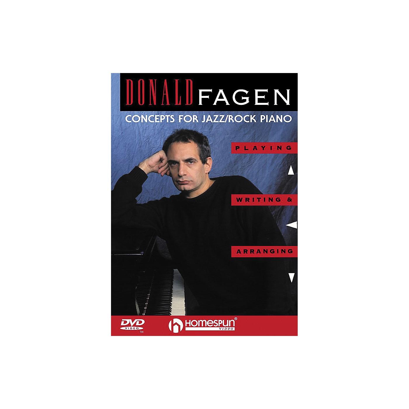 Homespun Donald Fagen - Concepts for Jazz/Rock Piano (DVD) thumbnail