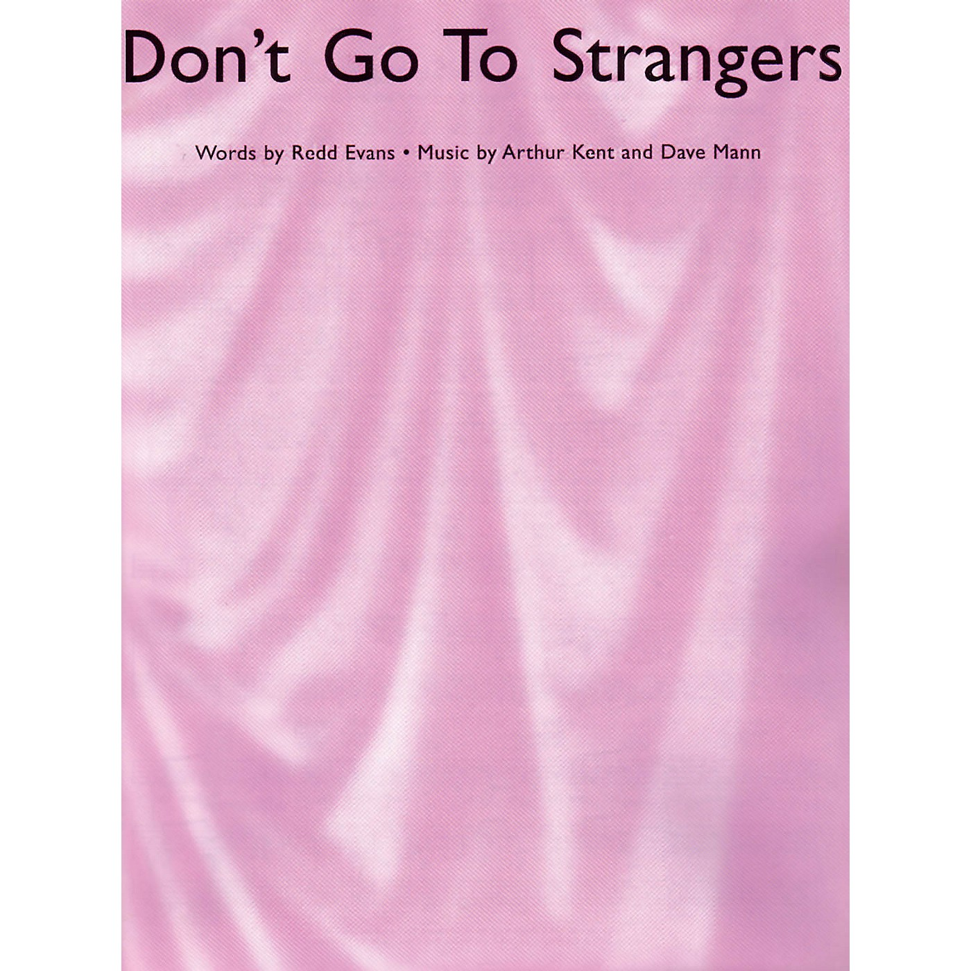 Music Sales Don't Go to Strangers Music Sales America Series thumbnail
