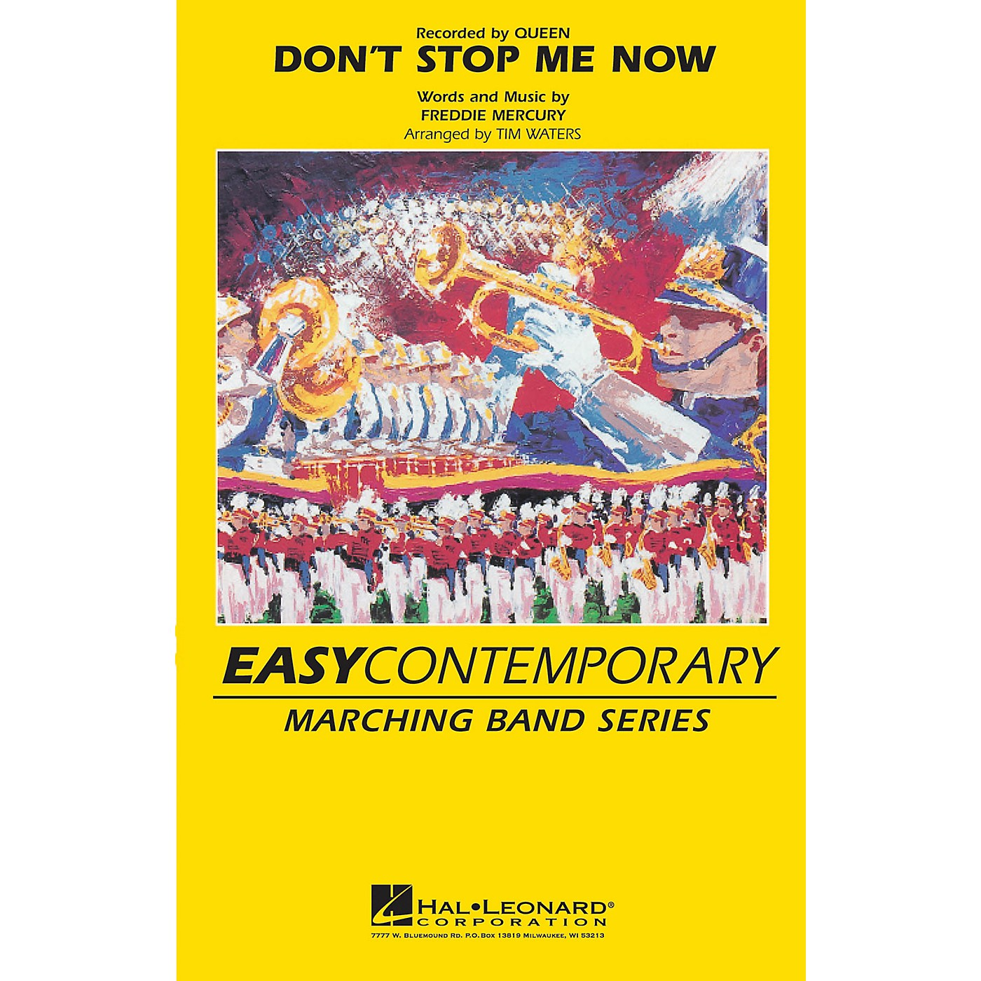 Hal Leonard Don't Stop Me Now Marching Band Level 2-3 by Queen Arranged by Tim Waters thumbnail