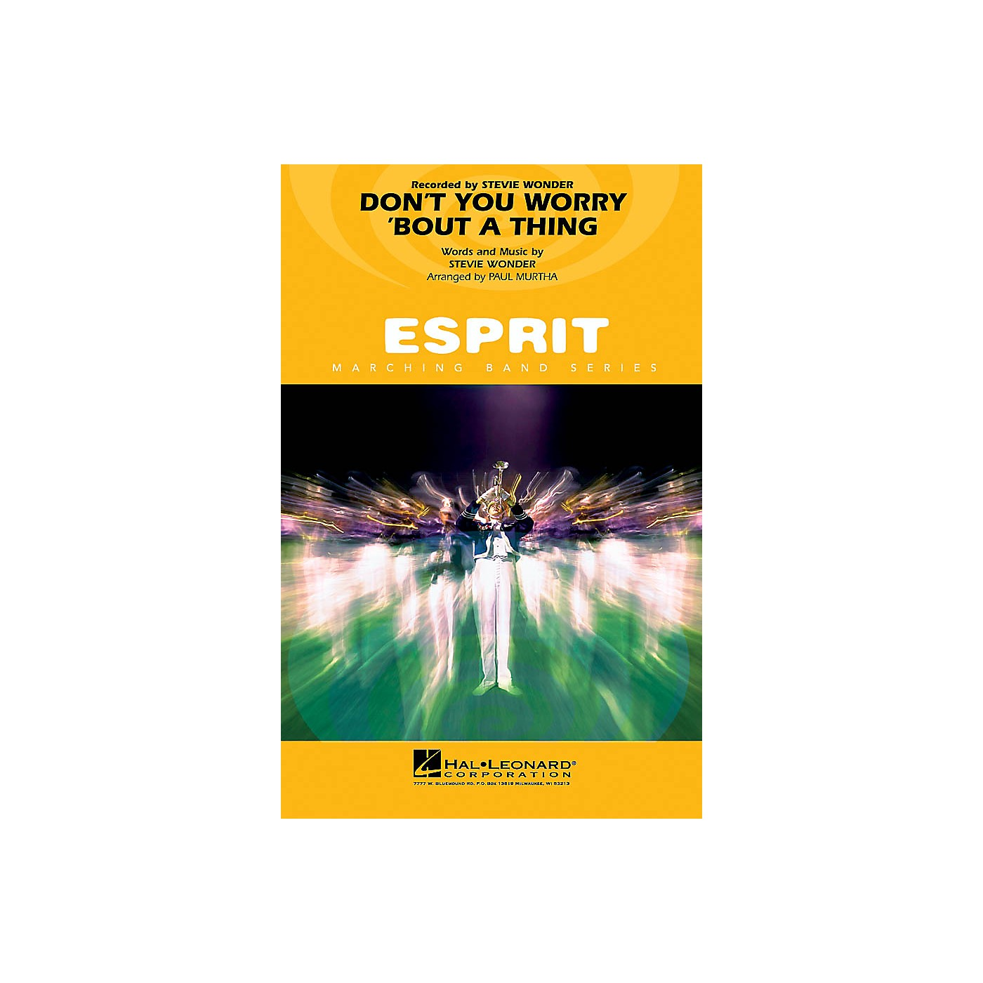 Hal Leonard Don't You Worry 'Bout a Thing Marching Band Level 3 Arranged by Paul Murtha thumbnail