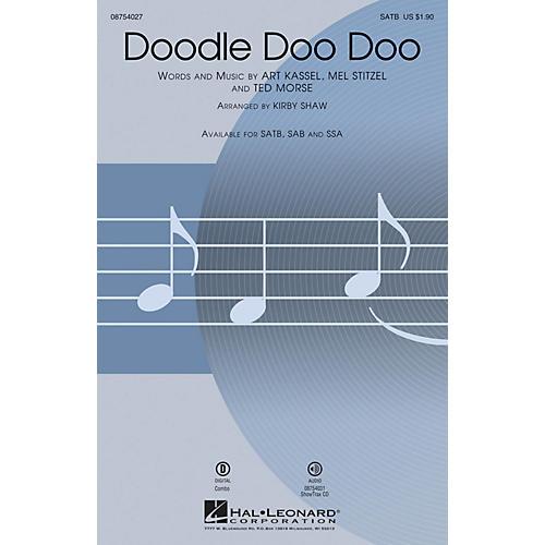 Hal Leonard Doodle Doo Doo ShowTrax CD Arranged by Kirby Shaw thumbnail
