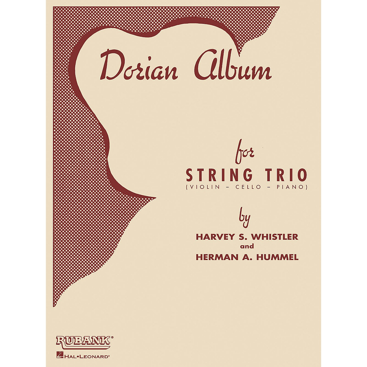 Rubank Publications Dorian Album (Violin, Cello and Piano) Ensemble Collection Series Arranged by Harvey S. Whistler thumbnail