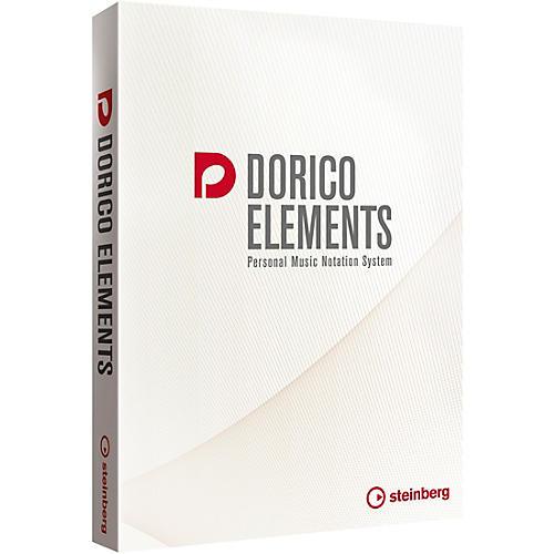 Steinberg Dorico Elements 2 Scoring Software (Boxed Version) thumbnail