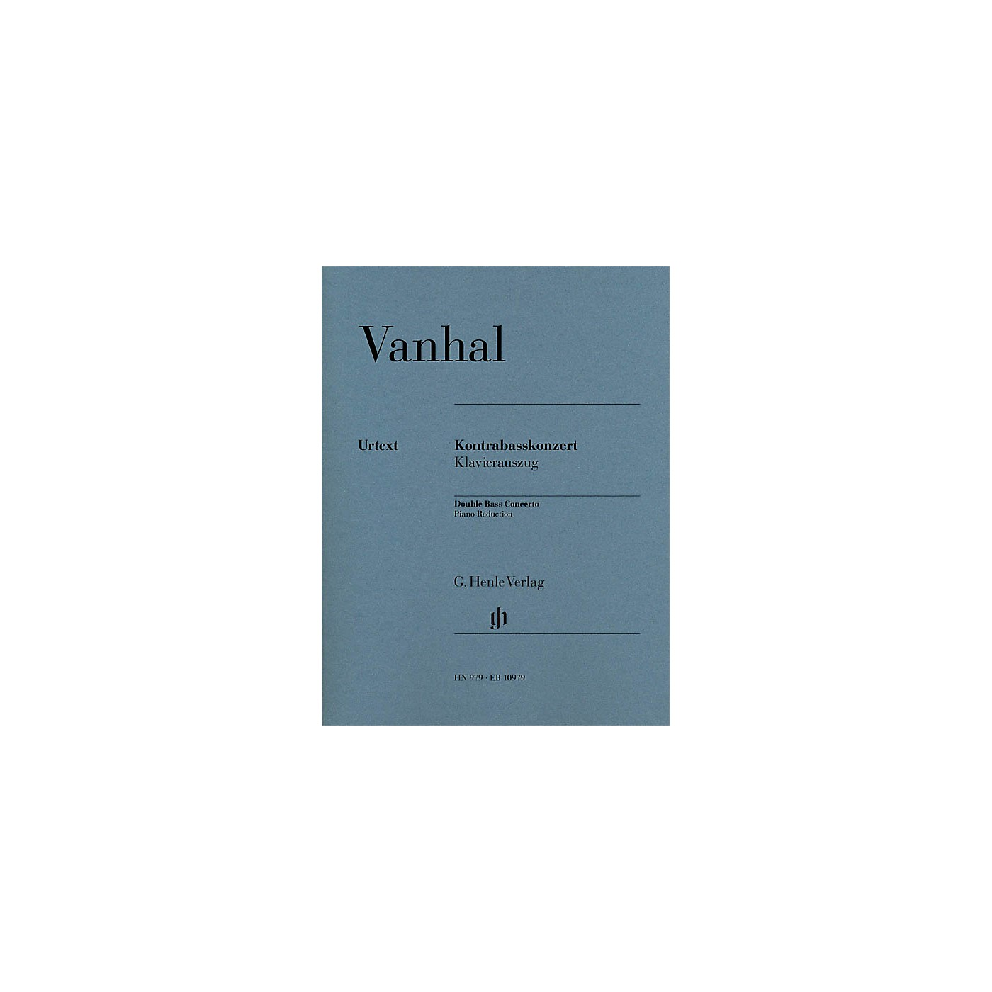 G. Henle Verlag Double Bass Concerto (Double Bass with Piano Reduction) Henle Music Folios Series thumbnail