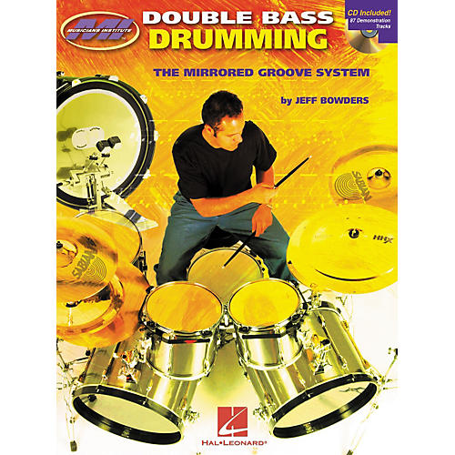 Musicians Institute Double Bass Drumming: The Mirrored Groove System Book with CD-thumbnail