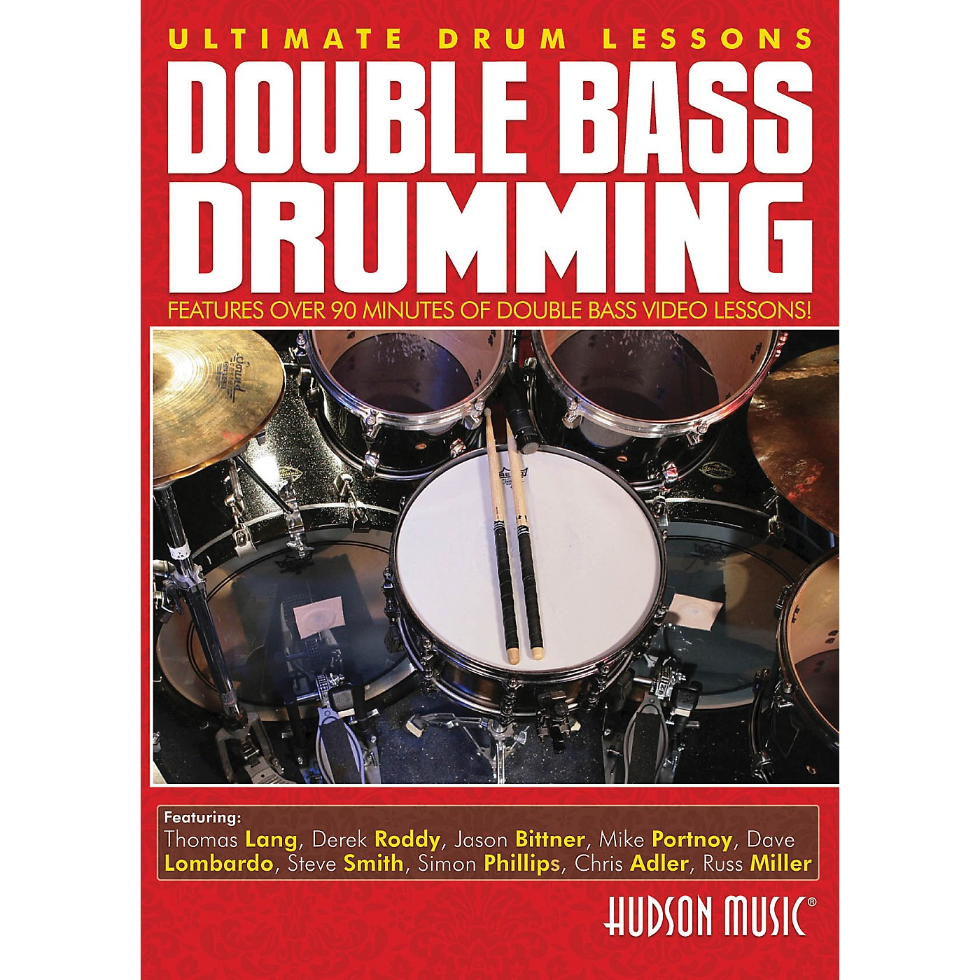 Hudson Music Double Bass Drumming Ultimate Drum Lessons Hudson DVD thumbnail