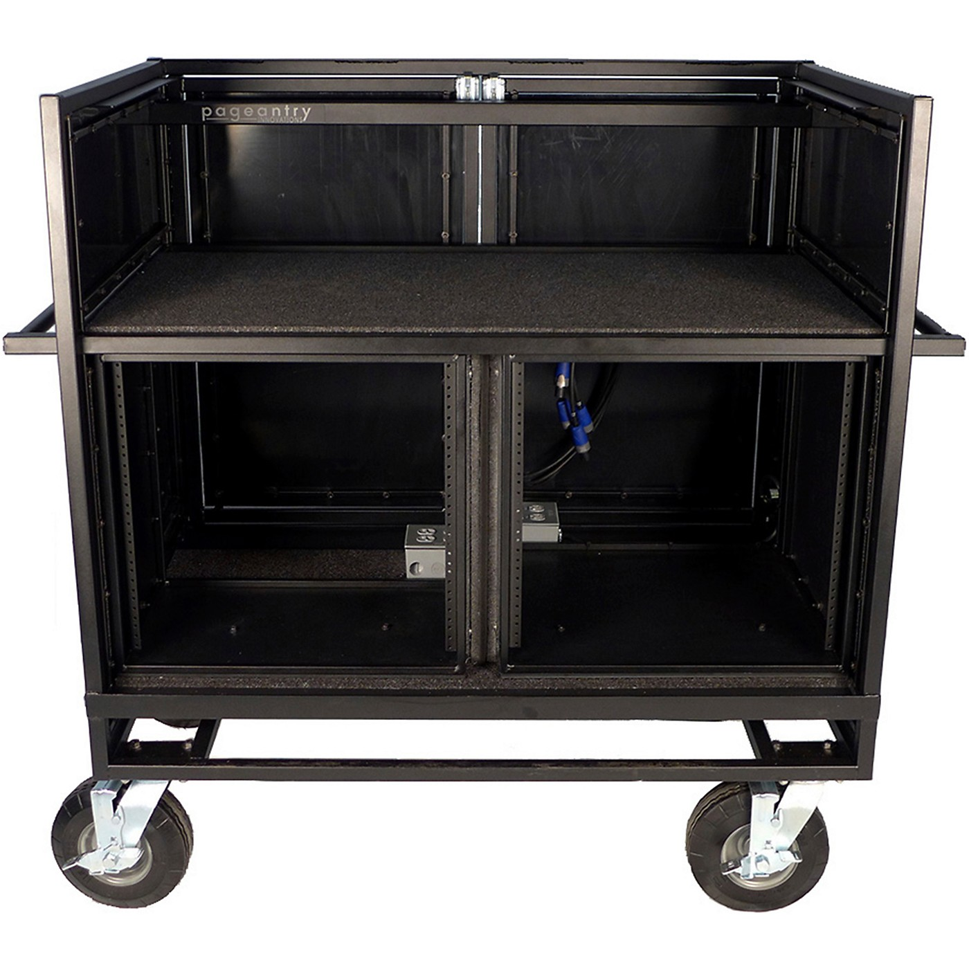 Pageantry Innovations Double Mixer Cart Stealth Series Upgrade thumbnail