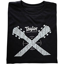 Taylor Double Neck T-Shirt Black