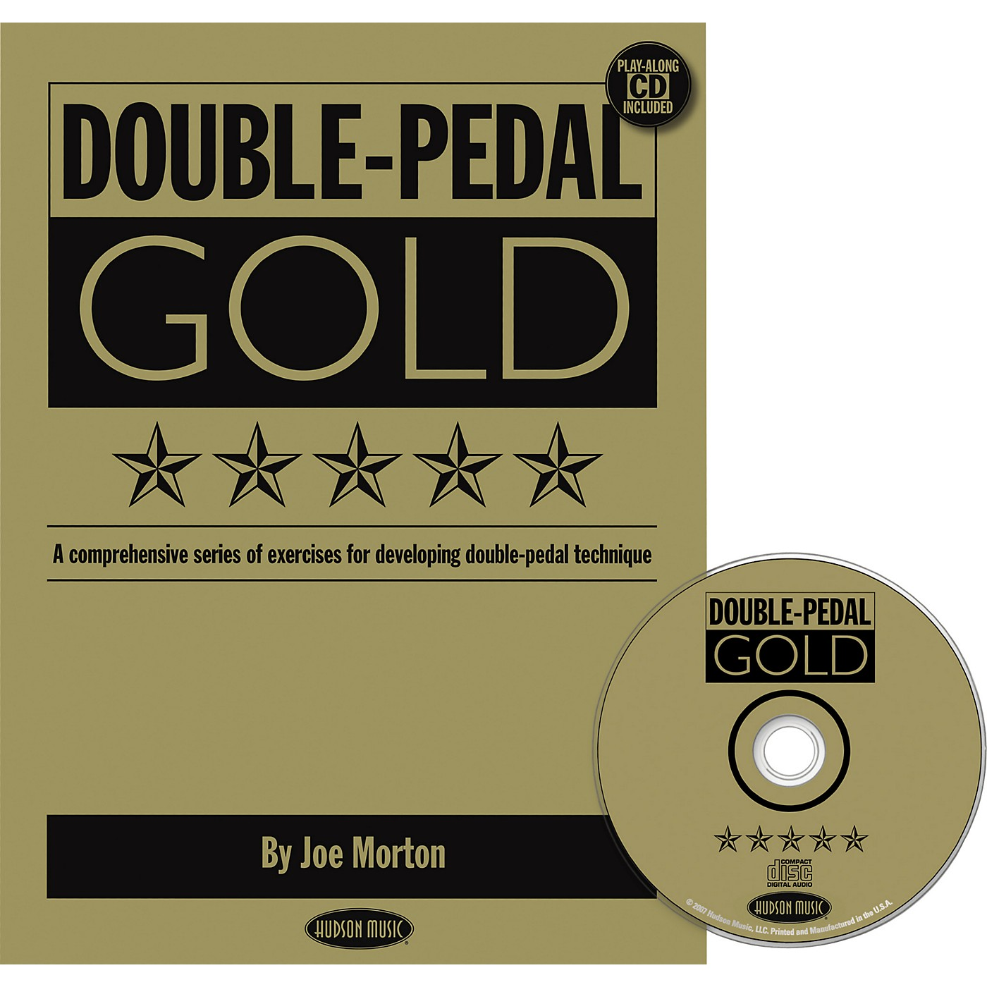 Hudson Music Double Pedal Gold Book and CD thumbnail