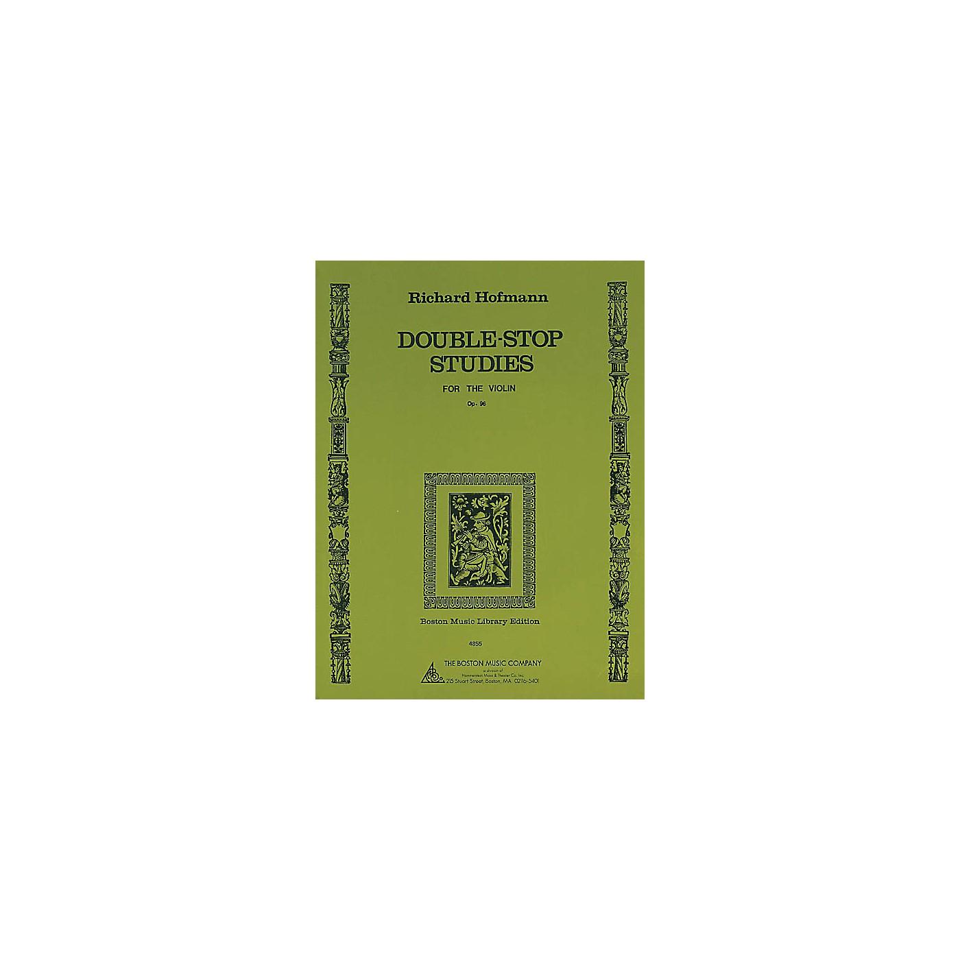 Music Sales Double-Stop Studies (for the Violin, Op. 96) Music Sales America Series Written by Richard Hofmann thumbnail