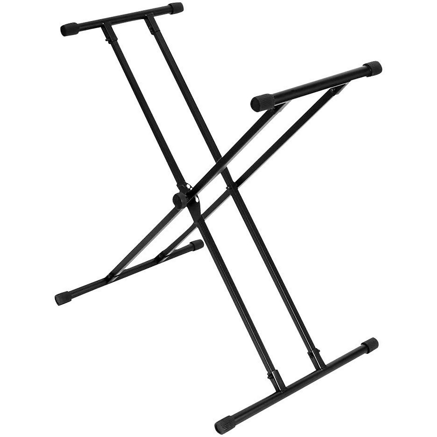 On-Stage Double-X Bullet Nose Keyboard Stand Wth Lok-Tight Construction thumbnail
