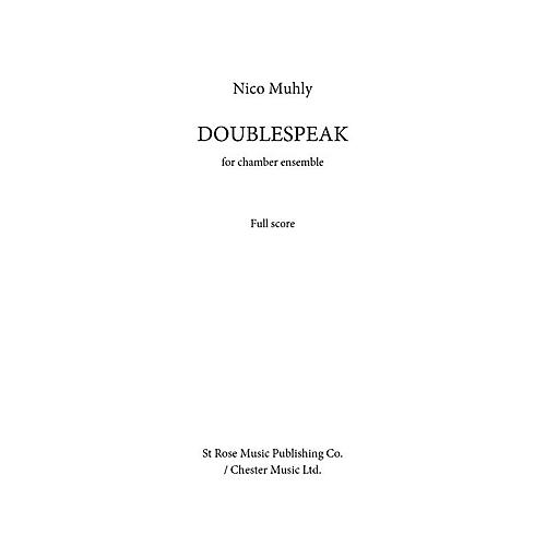 Music Sales Doublespeak Music Sales America Series by Nico Muhly thumbnail