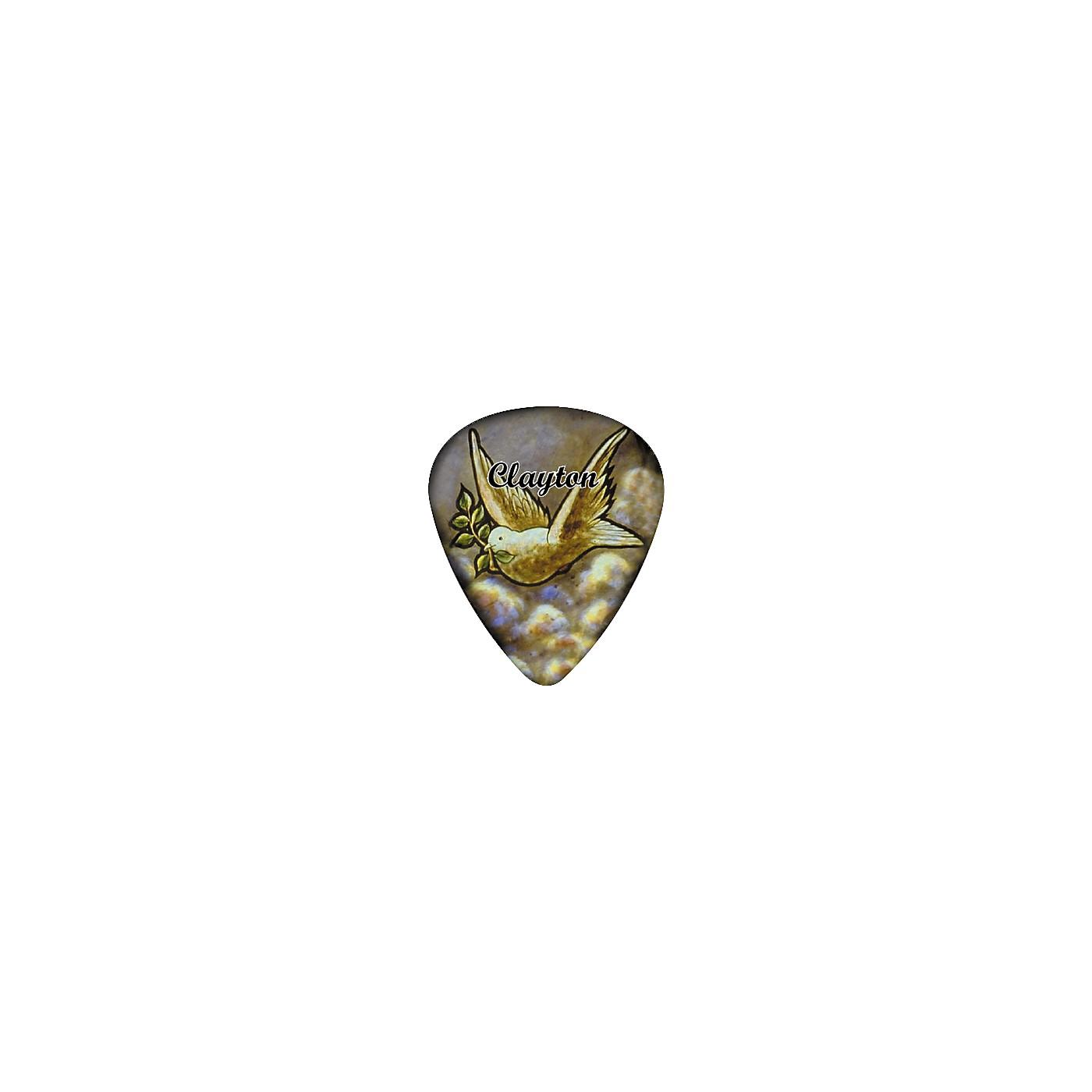 Clayton Dove Guitar Pick 12 Pack thumbnail