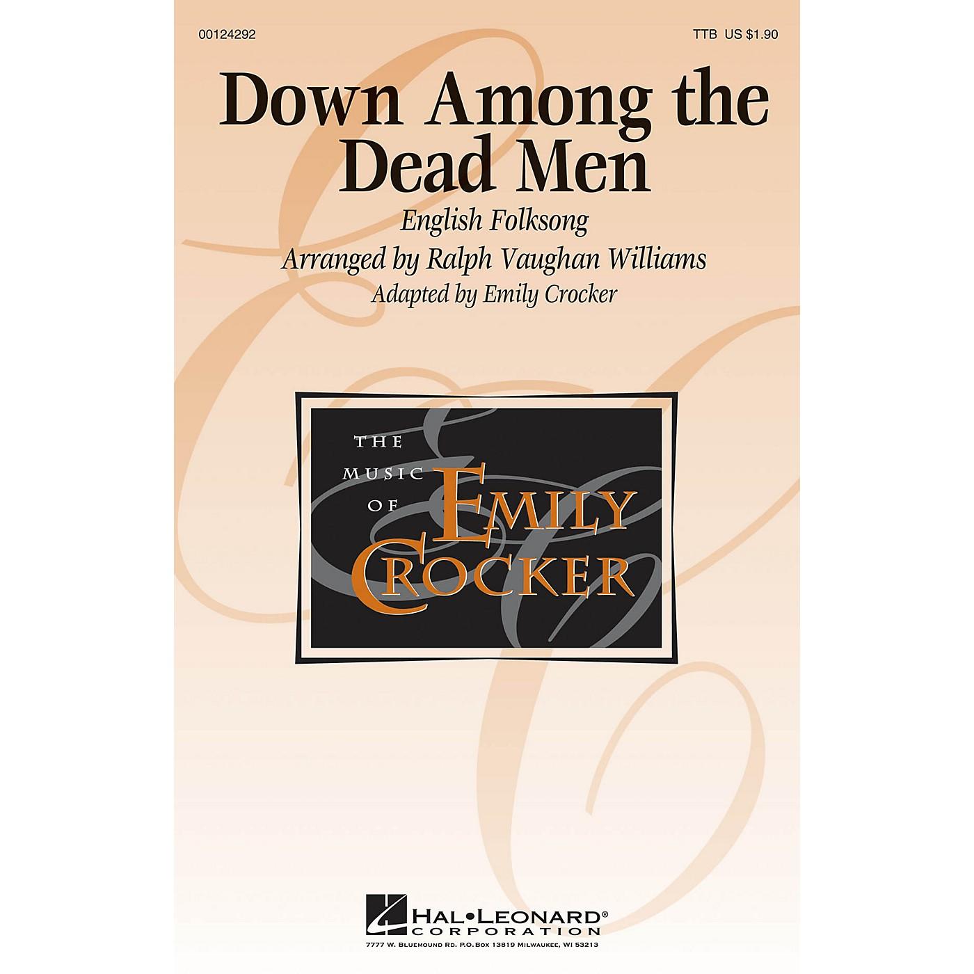 Hal Leonard Down Among the Dead Men TTB arranged by Emily Crocker thumbnail