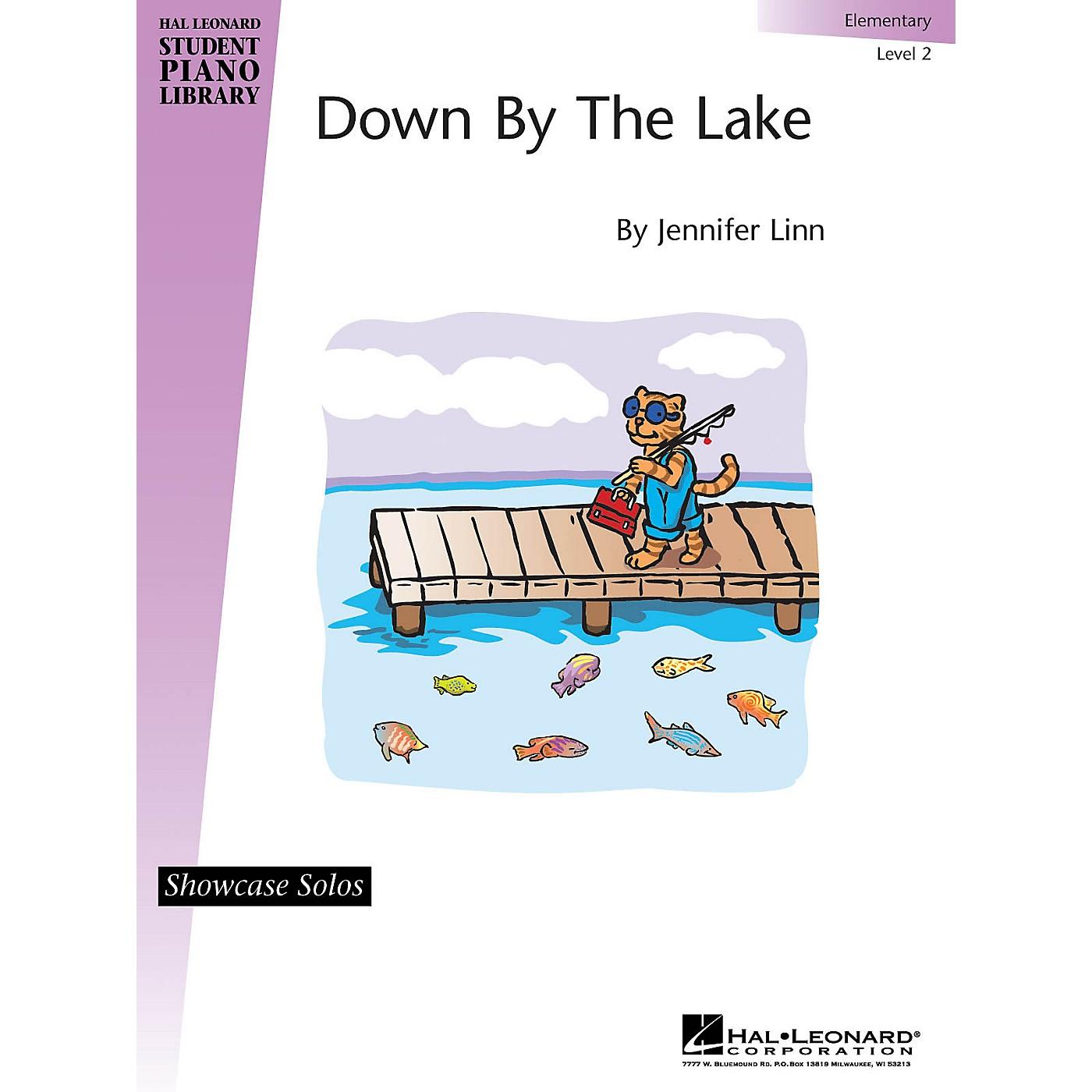 Hal Leonard Down By the Lake Piano Library Series Book by Jennifer Linn (Level Elem) thumbnail