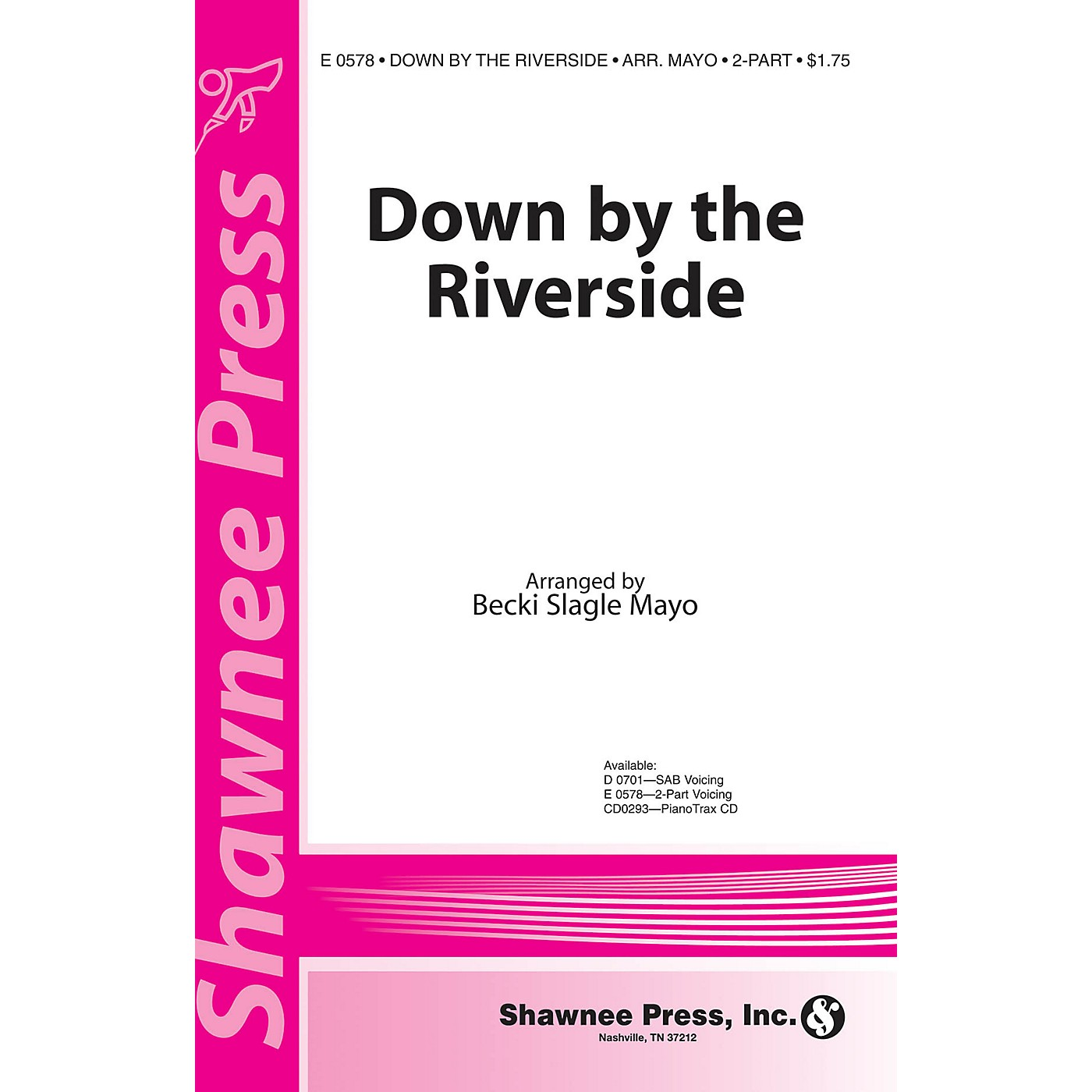 Shawnee Press Down by the Riverside 2-Part arranged by Becki Slagle Mayo thumbnail