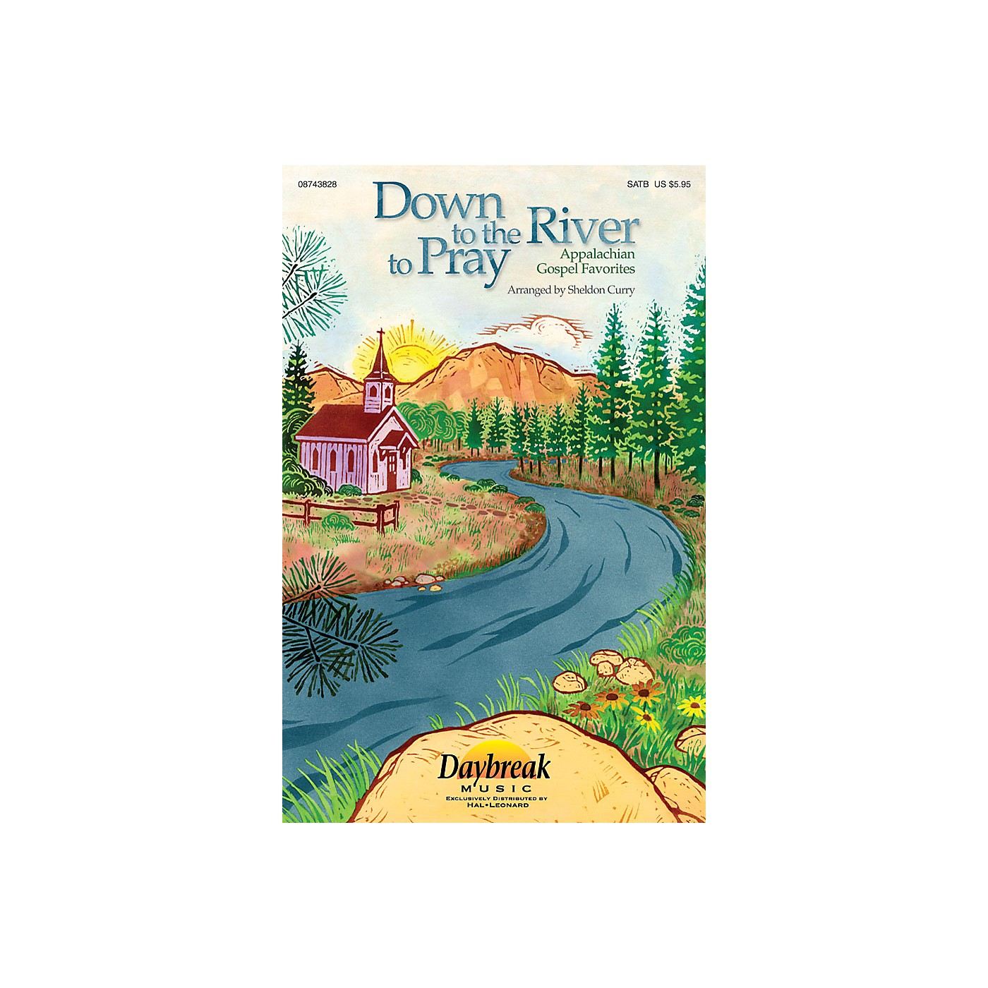 Daybreak Music Down to the River to Pray (Collection) (Appalachian Gospel Favorites) PREV CD Arranged by Sheldon Curry thumbnail