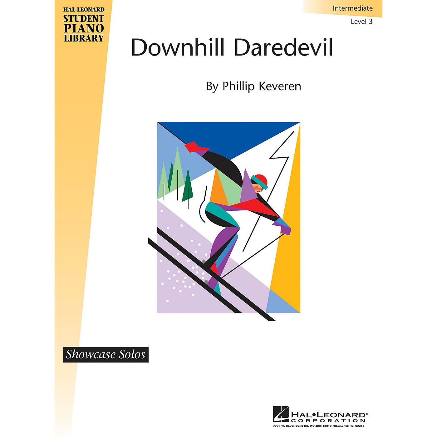 Hal Leonard Downhill Daredevil Piano Library Series by Phillip Keveren (Level Late Elem) thumbnail