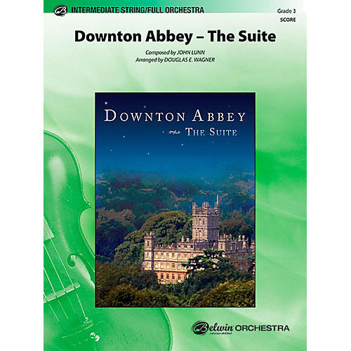 Alfred Downton Abbey The Suite Full Orchestra Level 3 Set thumbnail