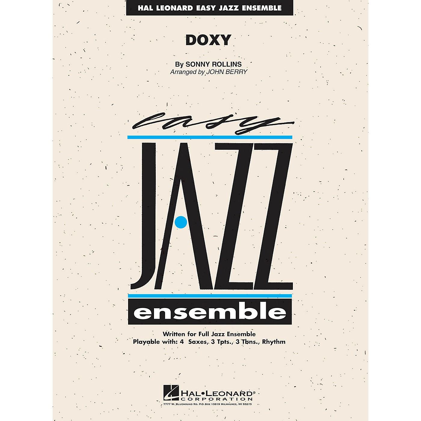 Hal Leonard Doxy Jazz Band Level 2 Arranged by John Berry thumbnail