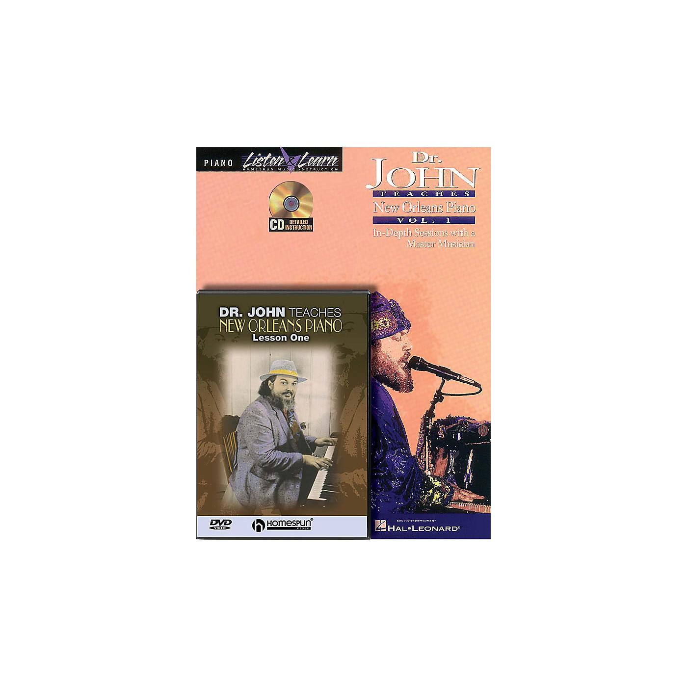 Homespun Dr. John - Piano Bundle Pack Homespun Tapes Series Softcover with DVD Written by Dr. John Rebennack thumbnail