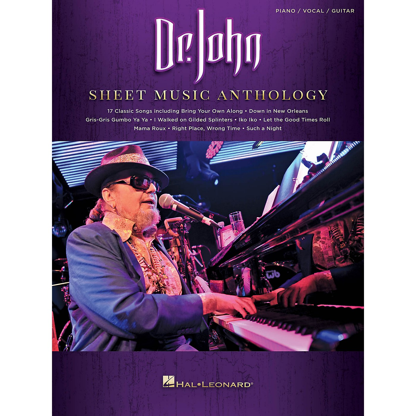 Hal Leonard Dr. John Sheet Music Anthology Piano/Vocal/Guitar Songbook thumbnail