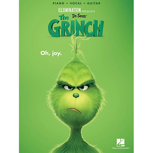 Hal Leonard Dr. Seuss' The Grinch Piano/Vocal/Guitar Songbook thumbnail