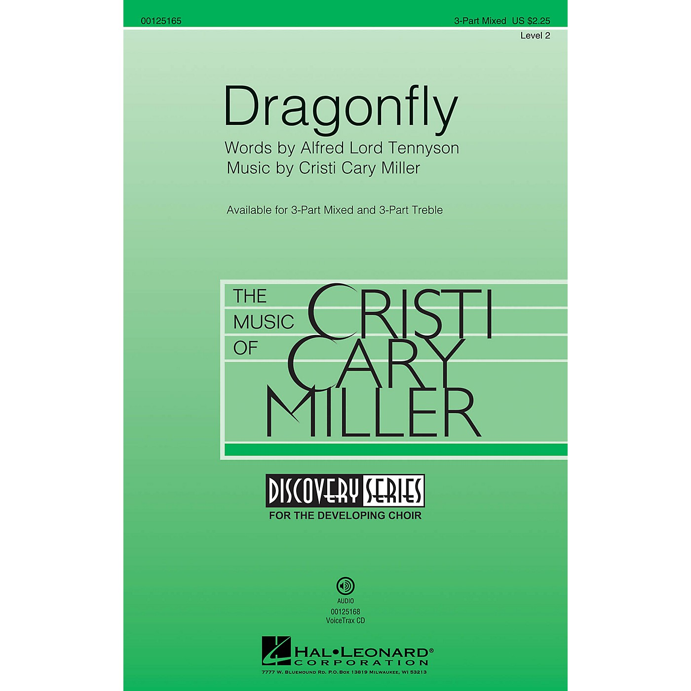 Hal Leonard Dragonfly (Discovery Level 2) VoiceTrax CD Composed by Cristi Cary Miller thumbnail