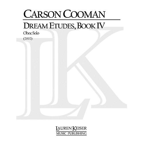 Lauren Keiser Music Publishing Dream Etudes, Book IV (Oboe Solo) LKM Music Series by Carson Cooman thumbnail