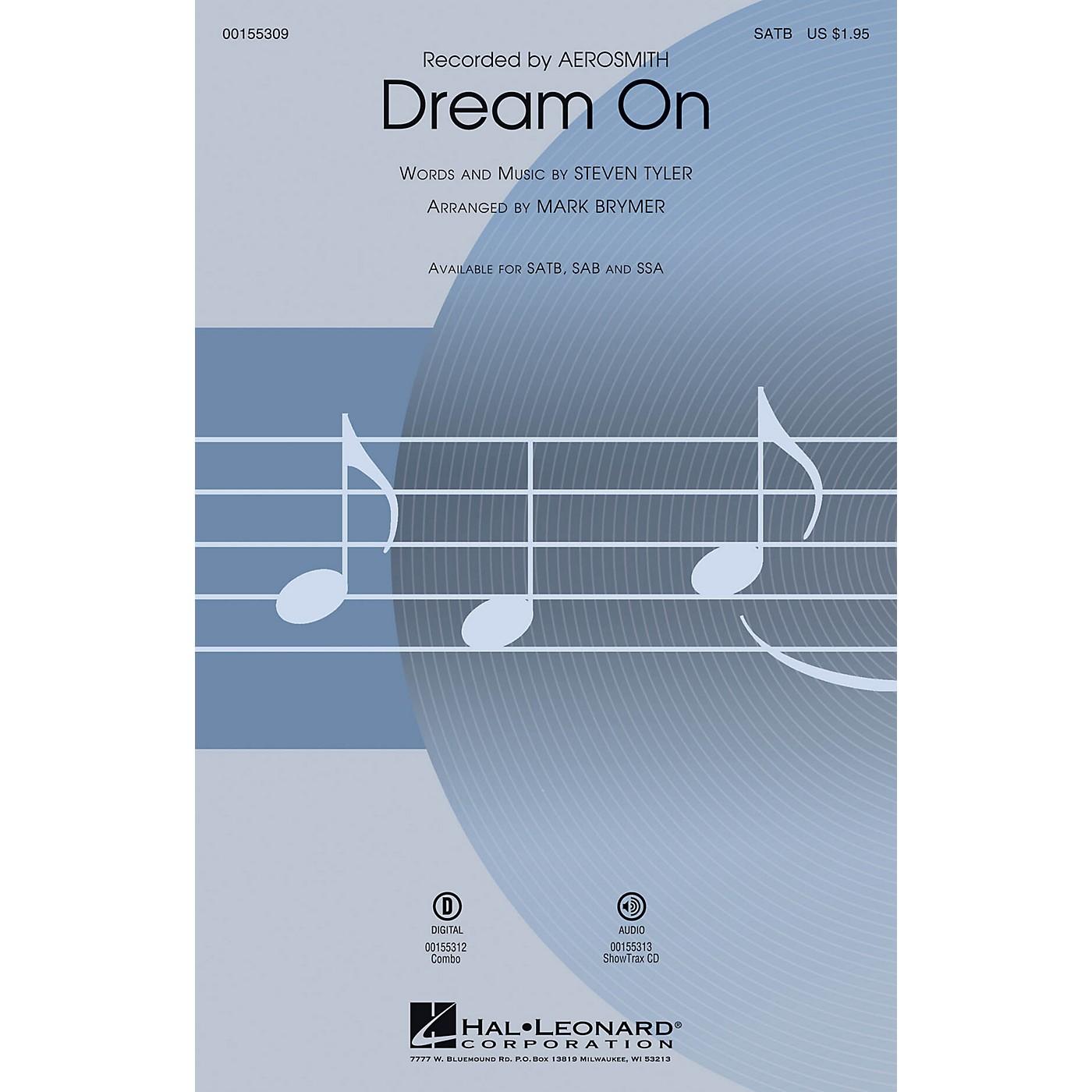 Hal Leonard Dream On SAB by Aerosmith Arranged by Mark Brymer thumbnail