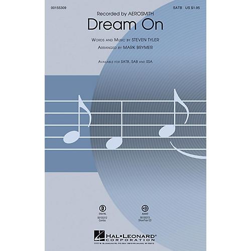 Hal Leonard Dream On SATB by Aerosmith arranged by Mark Brymer thumbnail