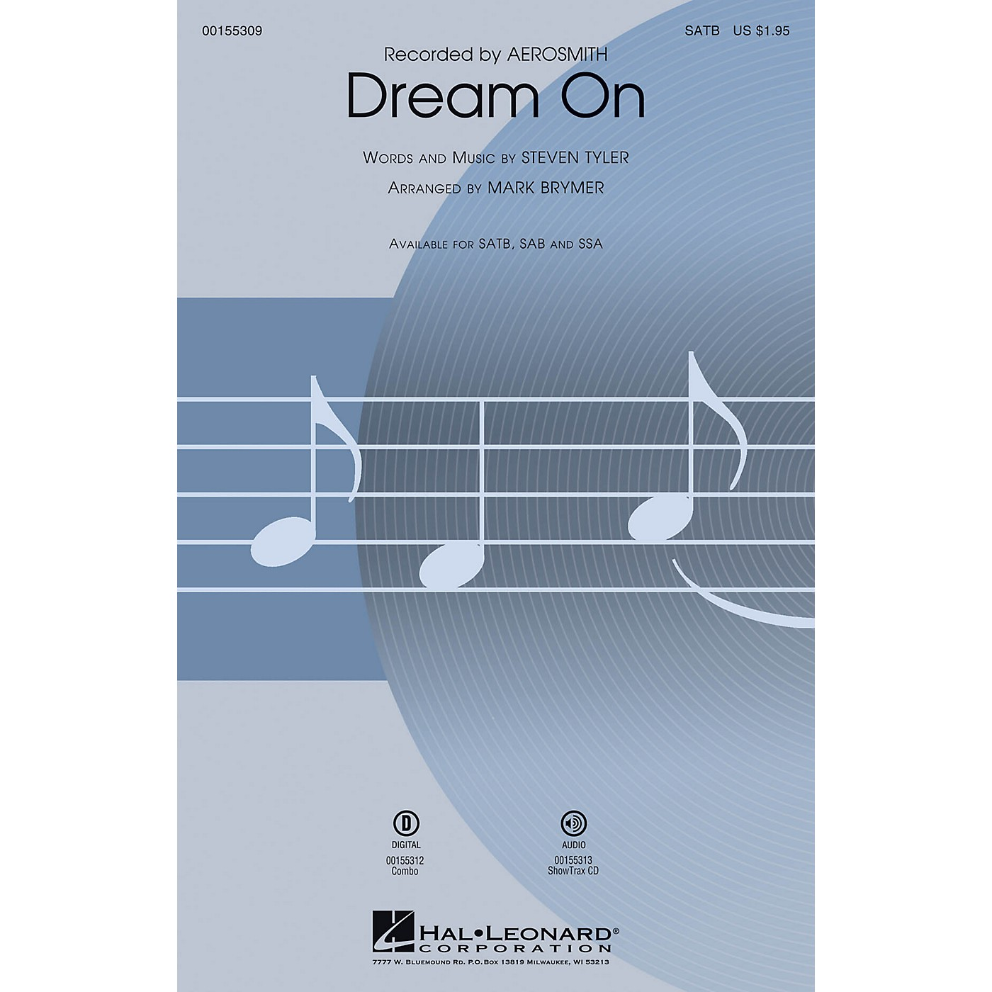 Hal Leonard Dream On ShowTrax CD by Aerosmith Arranged by Mark Brymer thumbnail