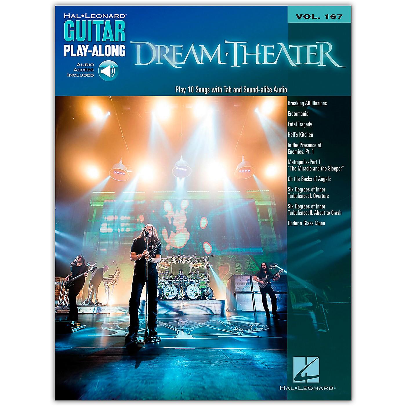 Hal Leonard Dream Theater - Guitar Play-Along Vol. 167 Book/Online Audio thumbnail