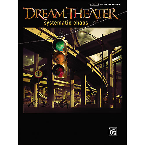 Alfred Dream Theater - Systematic Chaos Guitar Tab Songbook thumbnail