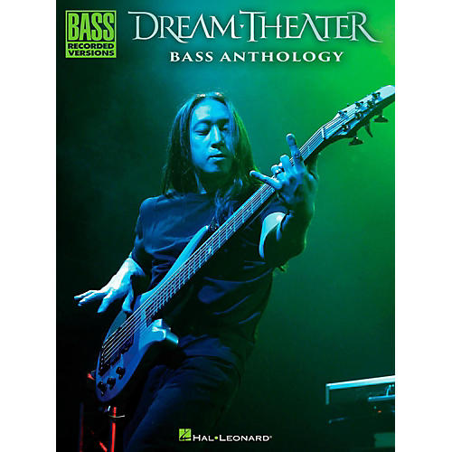 Hal Leonard Dream Theater Bass Anthology thumbnail