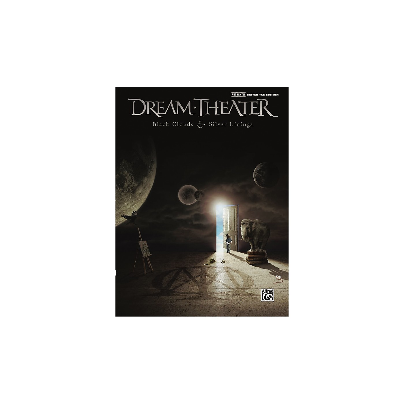 Alfred Dream Theater: Black Clouds & Silver Linings - Guitar Tab Book thumbnail