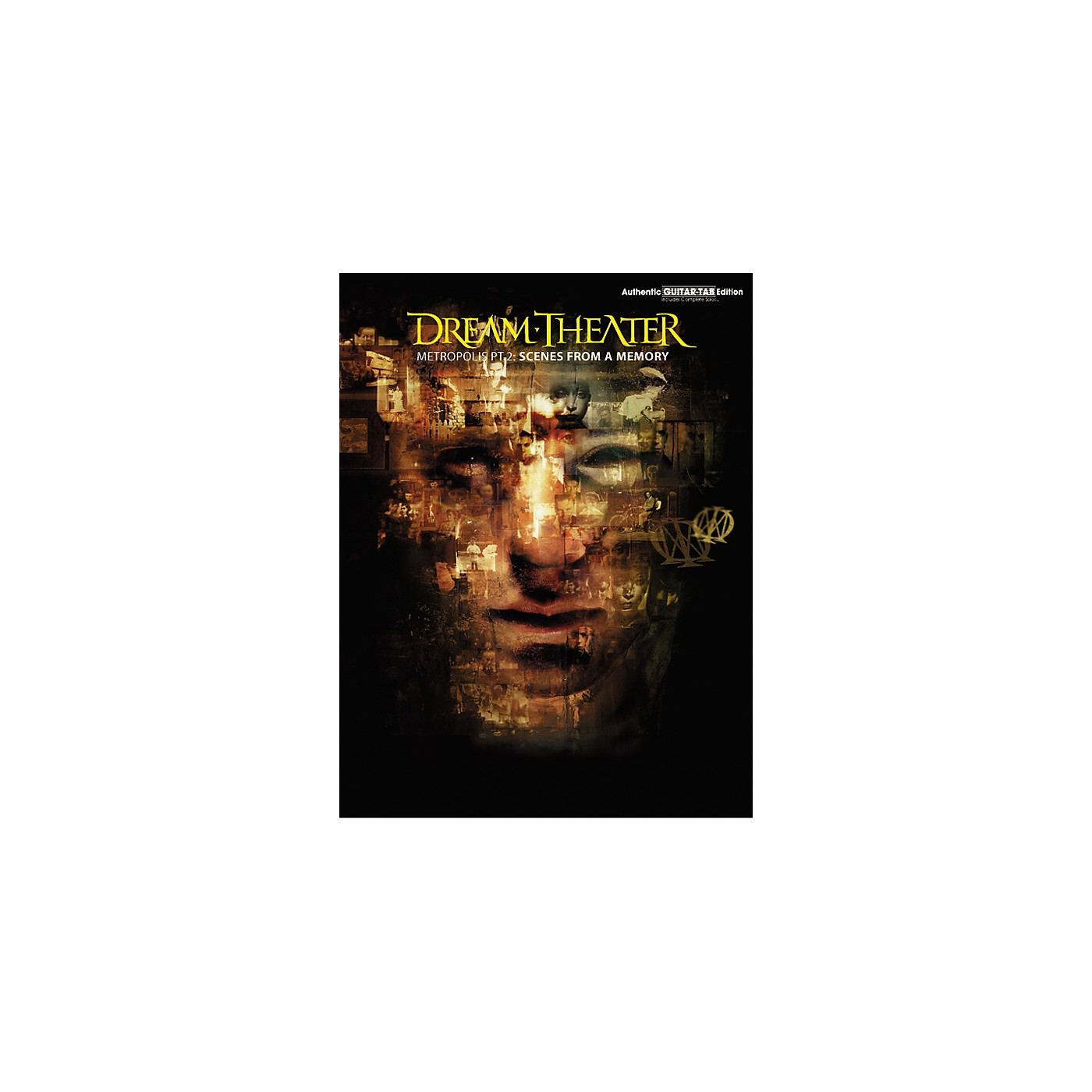 Hal Leonard Dream Theater Metropolis Part 2 Scenes from a Memory Guitar Tab Book thumbnail
