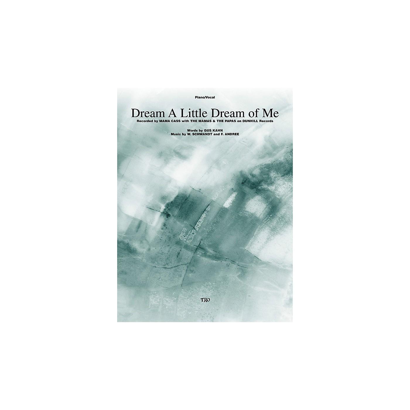 TRO ESSEX Music Group Dream a Little Dream of Me Richmond Music ¯ Sheet Music Series thumbnail