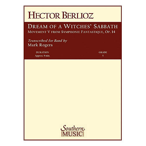Southern Dream of a Witches' Sabbath Concert Band Level 5 Arranged by R. Mark Rogers thumbnail