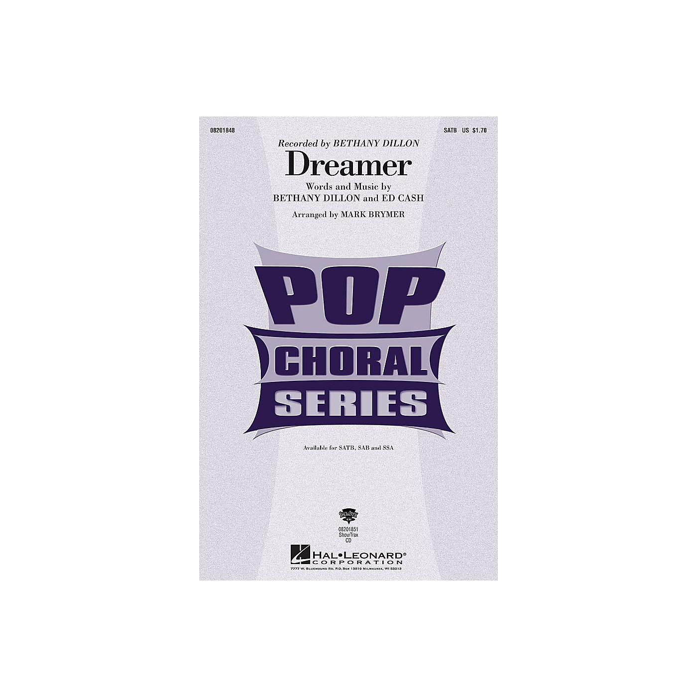 Hal Leonard Dreamer ShowTrax CD by Bethany Dillon Arranged by Mark Brymer thumbnail