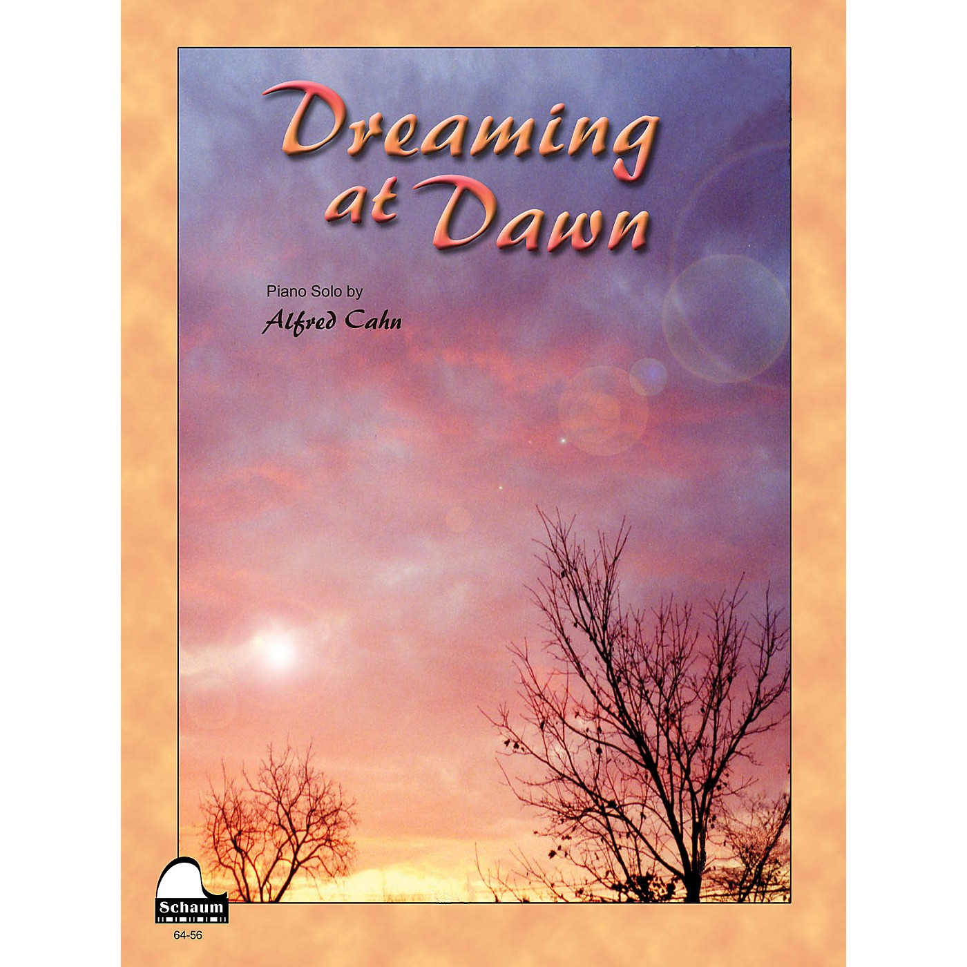 SCHAUM Dreaming At Dawn Educational Piano Series Softcover thumbnail