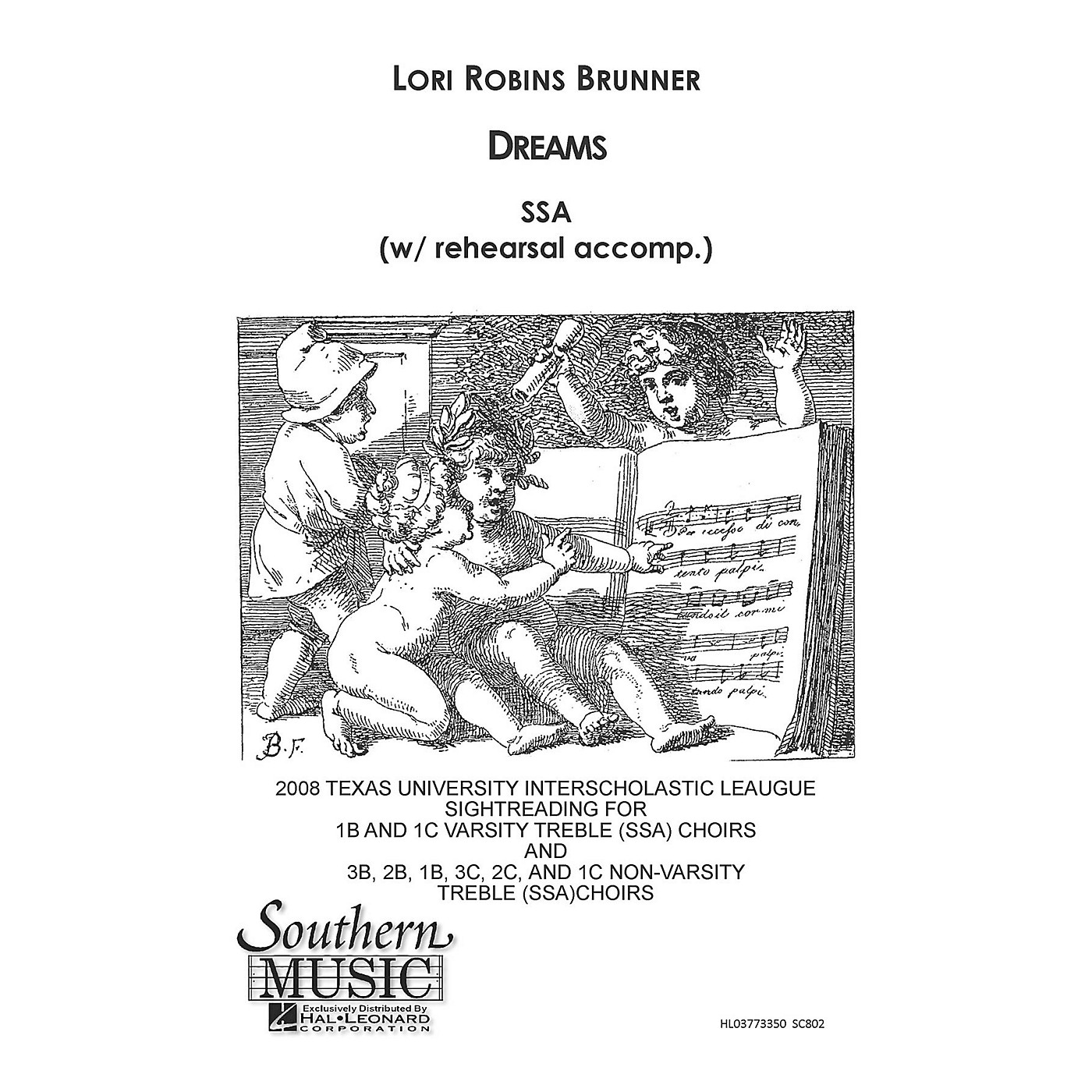 Southern Dreams SSA Composed by Lori Robins Brunner thumbnail
