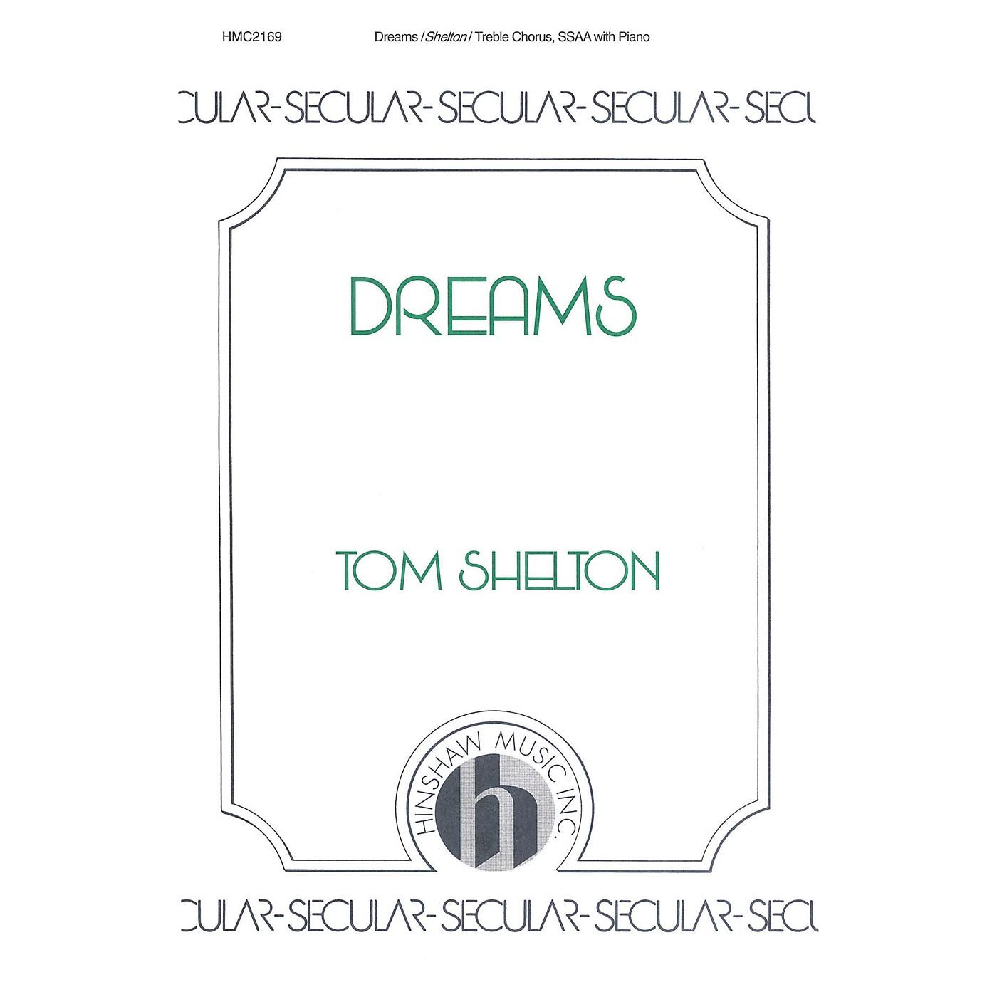 Hinshaw Music Dreams SSAA composed by Tom Shelton thumbnail