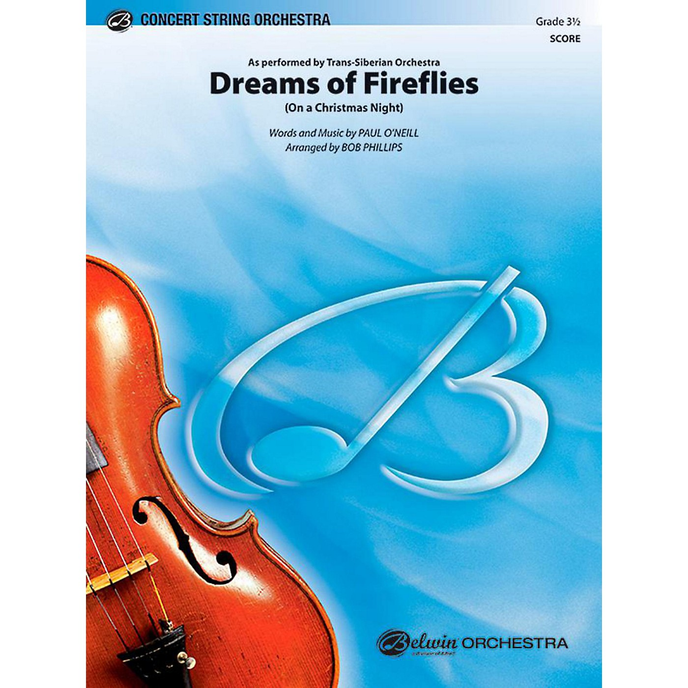 Alfred Dreams of Fireflies String Orchestra Level 3.5 Set thumbnail
