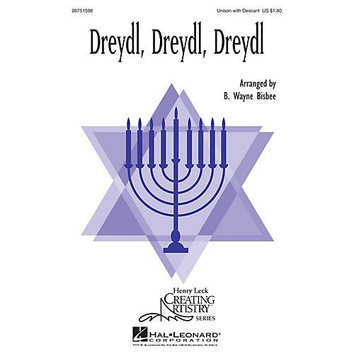 Hal Leonard Dreydl, Dreydl, Dreydl 2-Part arranged by B. Wayne Bisbee thumbnail