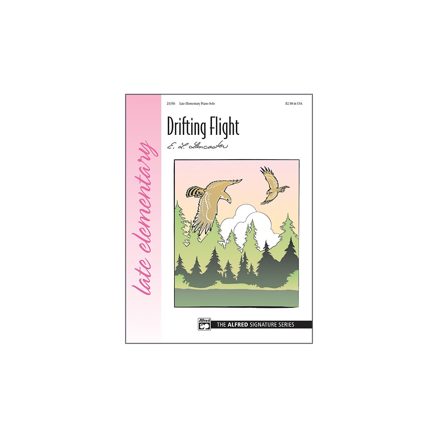 Alfred Drifting Flight Late Elementary Sheet Piano thumbnail