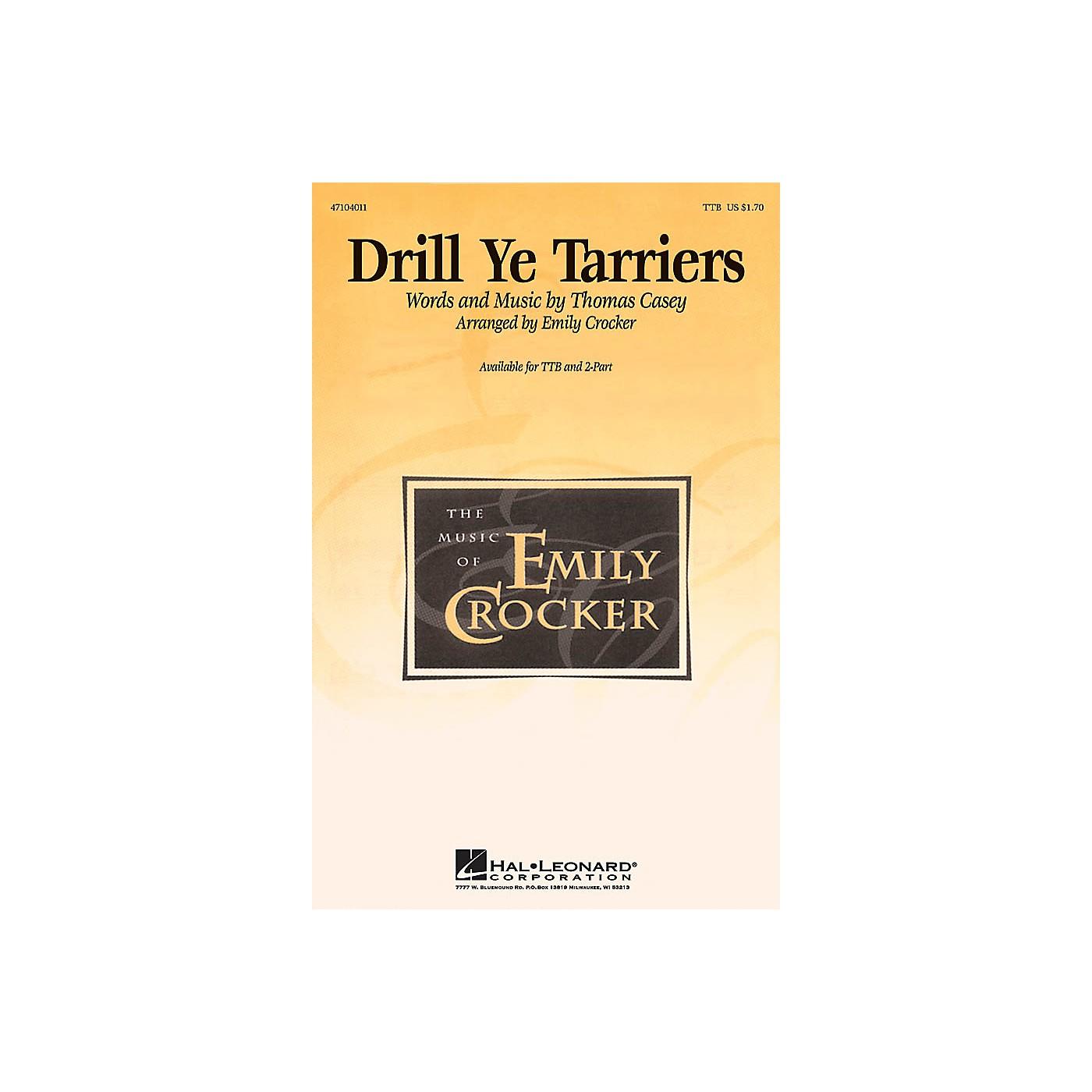 Hal Leonard Drill Ye Tarriers 2-Part Arranged by Emily Crocker thumbnail